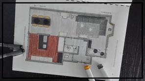 plattegrond, indeling, inrichting, realistisch plan, hal, woonkamer, eetkamer, keuken, slaapkamer, zolder, Almkerk, Stylist, noord-brabant, interieuradvies, interieurstyling, verkoopstyling, etalagestyling