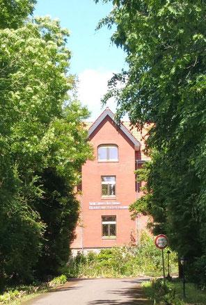 Alvesloherhof Seniorenheim Auffahrt