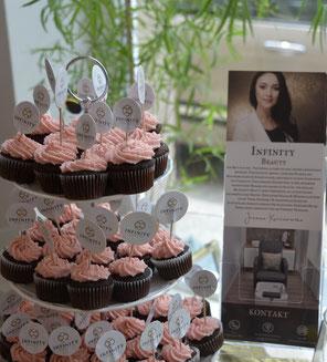 Cupcakes braun rosa