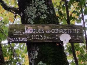 Sur le GR du coté de Castelmoron...
