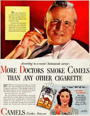 Camel: i medici le fumano più di ogni altra