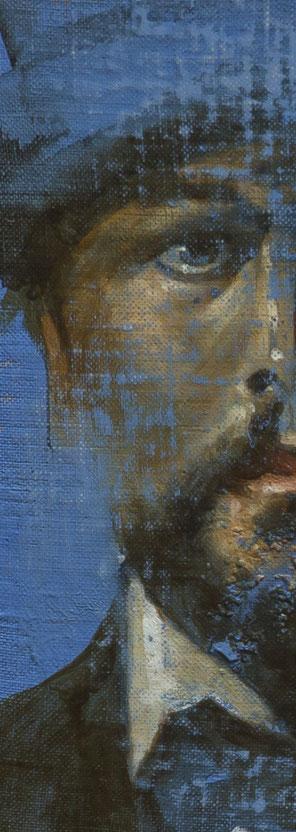 Frédéric Martin, artiste peintre, dessin, portrait, homme, peinture contemporaine