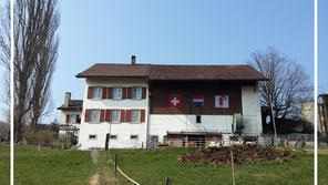 Bauernhof Aussenansicht von Walther Salathé