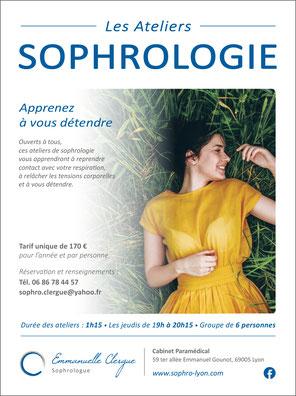 Emmanuelle Clergue - Sophrologie - Lyon