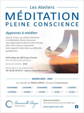 Emmanuelle Clergue - Méditation - Lyon
