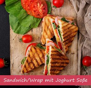 Rezept Sandwich Wrap Soße