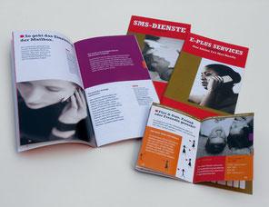 Talkline | Freelance TBWA | Print Broschüren Text & Konzept