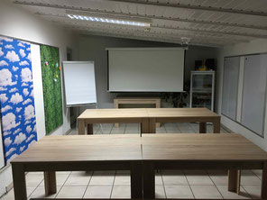 Basecamp, Schulungsraum, Seminarraum, Veranstaltugslokation, Weiterbildung, Übernachtung, Jugendherberge, Ausbildung,