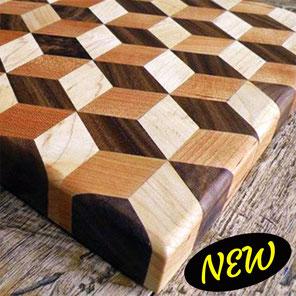 Falegnameria Lipa Complementi in legno effetto 3D