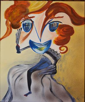 acrylique pour cette toile 50x60cm