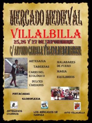 Programa del Mercado Medieval en Villalbilla