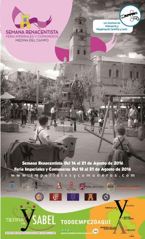 Programa de la Semana Renacentista en Medina del Campo