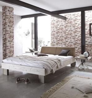 Schlafzimmer Schlafzimmermöbel Schlafen Bett Nachttisch Bettrahmen Betten Holzbett Holzbettrahmen