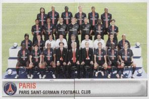 N° 300 et 301 - Equipe PSG