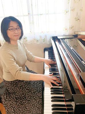 札幌市北区拓北にある「はるピアノ教室」主宰の講師の吉田晴代です