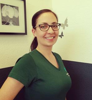 Kathrin Jordanov, geb. Hambach - Inhaberin der Praxis für Physiotherapie Hambach