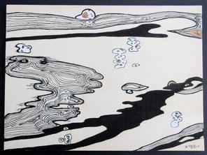 Au bord de l'eau, n°5