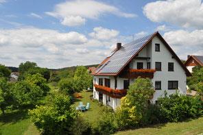 Ferienwohnung Vestenbergsgreuth, Hier können Sie Ihr Elektroauto laden! Steigerwald, Franken
