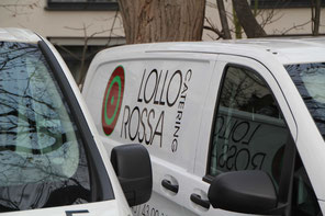 Fahrzeug von Lollo Rossa Catering