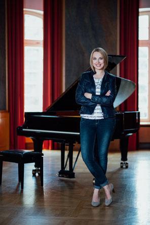 Pianisten Portrait