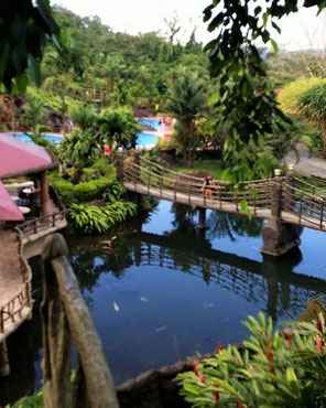 Hotel close to the Arenal Hot Springs, Volcano, National Park, Hanging Bridges