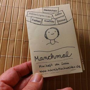 Minibuch Lyrik zum Mitnehmen