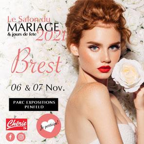 Salon du Mariage & jours de fête à Brest 6 et 7 Novembre 2021