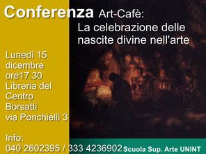 Conferenza trieste Art Caffe, Casa della Cultura