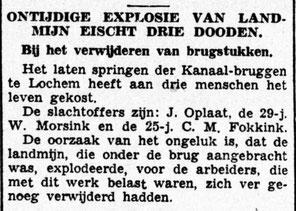 24-8-1945 De Nieuwsbode