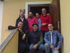 Gruppo Cisar al primo giorno