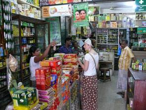 Ayurvedische Produkte spielen auch in der Küche Sri Lankas eine elementare Rolle, Negombo, Sri Lanka (Foto Jörg Schwarz)