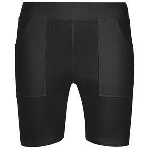 Herren Yoga Shorts, Sport Shorts schwarz