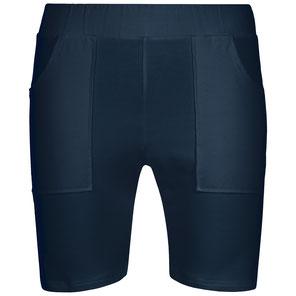 Herren Yoga Hose Shorts blau