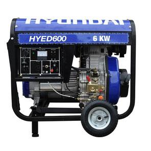 Hyundai | Generadores | Generador Hyundai HYED600