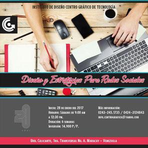 Taller Diseño y Estrategias para Redes Sociales - Centro Gráfico de Tecnología