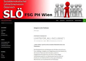 Unter www.fsg-phwien.org ist die neue Website erreichbar!