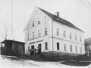 Bild: Wünschendorf Bäckerei Süß 1900  Rösch