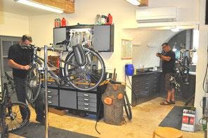 bike repair workshop herault salagou