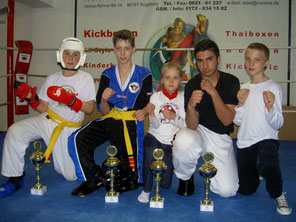 ISKA Next Generations Turnier in Augsburg 2008 - TOWASAN Karate Schule München