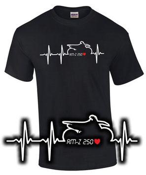 rmz 250 Tuning Zubehör T-Shirt Spruch Motorrad Motocross