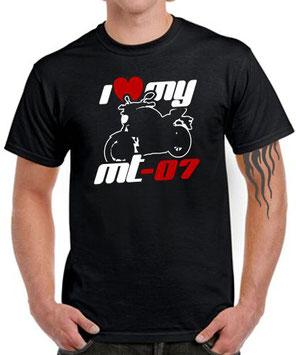 MT-07 Yamaha Tuning Fun T-Shirt Zubehör