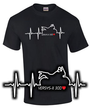 versys 300 Tuning Zubehör T-Shirt Motorrad