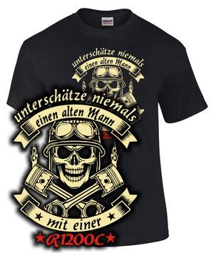 R1200C Tuning Teile Zubehör Biker T-Shirt ALTER MANN MIT Motorrad Spruch lustig