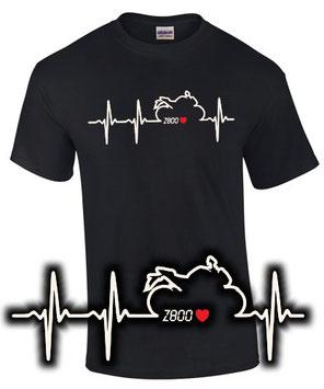 Z 800 e Tuning Zubehör T-Shirt