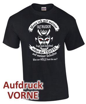 INTRUDER Motorrad Tuning Zubehör Biker Club T-Shirt
