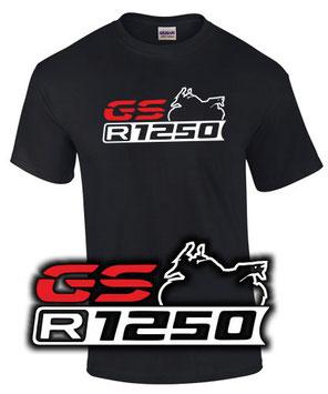 R 1250 GS Tuning Zubehör Logo T-Shirt Motiv Geschenk