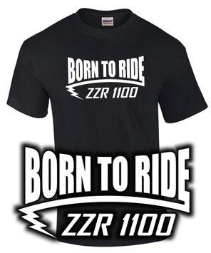 ZZR 1100 T-Shirt Motorrad Biker Tuning Zubehör Spruch Geschenk