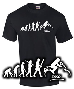 Z 650 Tuning Zubehör T-Shirt Motorrad geschenk motiv