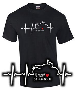 R nineT scrambler Tuning Umbau Teile Zubehör T-Shirt