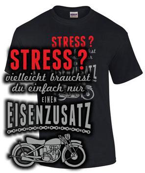 T-Shirt Motorrad Biker Spruch lustig